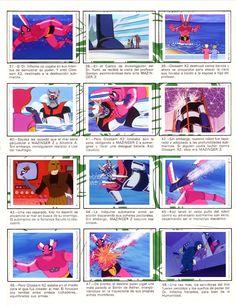 Pagina 6 del primer album de Mazinger-Z (Remasterizado por Liderdark)