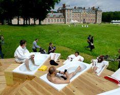 Chamarande les bain, Paris, France - Bruit du frigo #urban #urbaninstallation