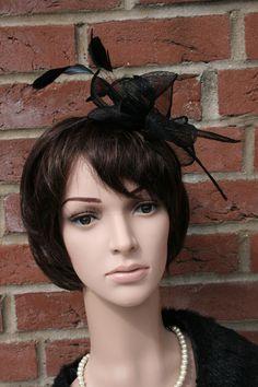 """Haarreifen """"Bow"""", schwarz von JulaceWest auf DaWanda.com"""