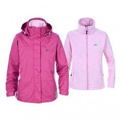Hemisphere Girls Waterproof Coats | Rain Jackets | Trespass