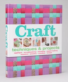 Take a look at this Craft Hardcover by Penguin Group (USA) on #zulily today!
