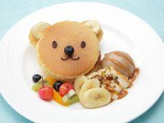 キャラメルくまさんパンケーキ ♥ Dessert