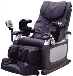 A unique massage chair design equipped with the most advanced in total body-massage care technology for maximum relaxation effects. Angle of laying:   95-170 degrees Angle of footrest: 0-105 degrees Timer setting:  15 minute automatic power off time - 220 volts – 50 Hz - 150 watts