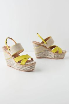 Felicie Wedges / Anthropologie #shoes  Visit:  http://fashionartist.org/  Like share and repin :)