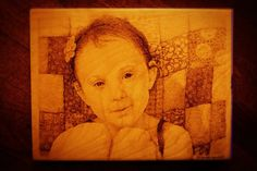 Hand Drawn  Custom Made For You  Pyrography by HAWKESPYROGRAPHY, $135.00