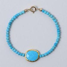 Turquoise Bracelet #turquoise #armcandy #armparty #jewelry #handmade www.jewelya.com