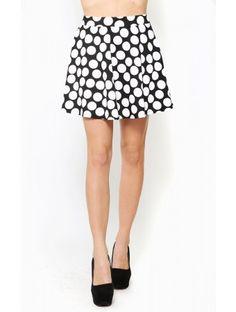 Retro Babe Skater #Skirt