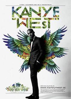 Visuel artiste dans le cadre du festival Way Out West 2012, Graphic Leon & Chris