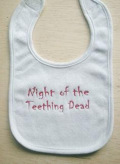 This totally suits Mr. Cranky Teether!