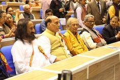 Sri Sri Ravi Shankar Ji, Shri Rajnath Singh Ji, Shri Birju Maharaj Ji & Dr. Krishna Gopal Ji