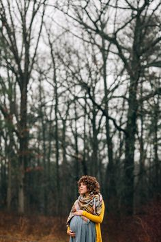 A Foggy Morning Cozy Maternity Shoot - Turnquist Photography
