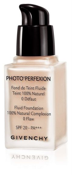 Givenchy Photo Perfexion Fluid Foundation ($48) will soothe even the driest complexions and combination skin this Fall.