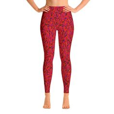 Twinkle Twinkle little star. Super soft, stretchy and comfortable yoga leggings. Yoga Capris, Yoga Leggings, Burgundy Leggings, Printed Yoga Pants, Seamless Leggings, Womens Workout Outfits, Yoga Fashion, Spandex Material, Capri Leggings