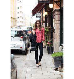 printed blouse - Carolines Mode