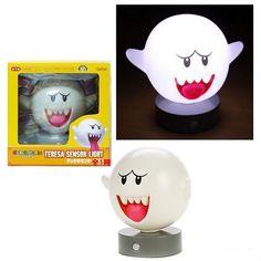 mario bros motion sensor boo lamp