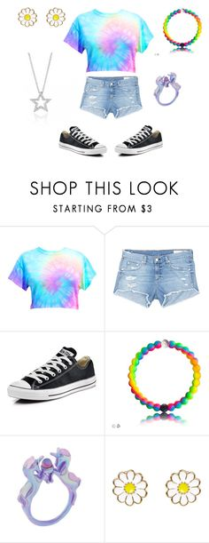 """Tye-dye."" by delledubstep ❤ liked on Polyvore featuring rag & bone/JEAN, Converse and Monsoon"