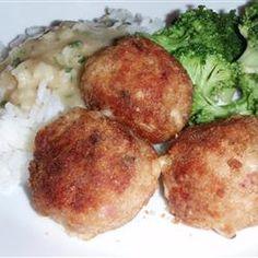 Chicken Boulettes Allrecipes.com