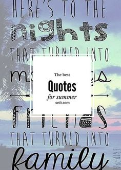 summer inspiration quotes