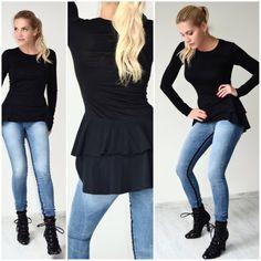 Dara Rolins Peplum, Jeans, Hot, Women, Fashion, Moda, Fashion Styles, Veil, Fashion Illustrations
