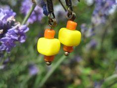 Ohrhänger - kleine Ohrringe JuLimone - ein Designerstück von Behrenperlen bei DaWanda