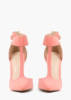 Peach Pumps $29