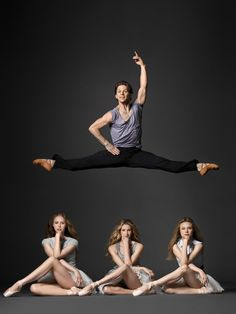 Dancers for the NYC ballet