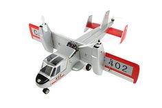 hot sale free shipping Canadair CL-84 Dynavert Tilt-wing VTOL vertical take off and landing rc model airplane aircraft plane PNP