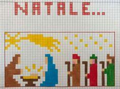 Pixel Art, Needlepoint, Tapas, Projects To Try, Cross Stitch, Coding, Crochet, Pattern, Christmas