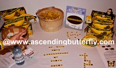 Bananagrams on display at the Blogger Bash Sweet Suite 2014 NYC Blogging Conference - http://www.ascendingbutterfly.com/2014/08/to-bloggerbashnyc-with-love.html