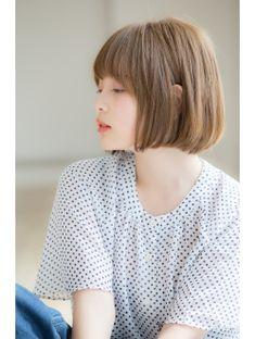 【Euphoria】簡単スタイリング☆ナチュラルボブ☆大人かわいい