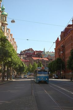 Goteborg, Sweden Wisit when I was on Handball tour. Didnt see much but I remember the trains, and Liseberg tivoli.