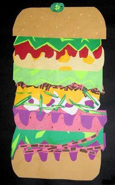 Claus Oldenburg paper collage