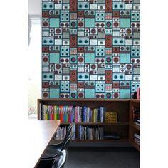 Blik Wall Decal - Amps ~ Pattern Wall Tiles #blikwalldecals