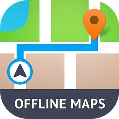Offline Maps & Navigation is here! Free GPS app for city, traffic, transport🚗🏢 Google Satellite, Satellite Maps, Mobile Ui Design, App Design, Map Icons, Simple App, City Maps