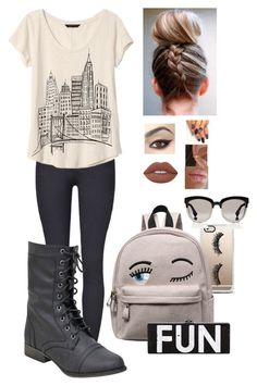 """Cute and Fun"" by lol22-2000 ❤ liked on Polyvore featuring Banana Republic, Casetify, Lime Crime and Christian Dior"