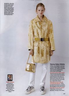 Allure Editorial Out of the Blue, November 2012 Shot #1