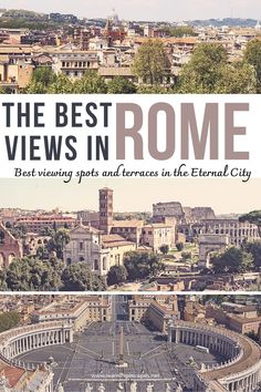 Where can you catch the best views over Rome? Find out in this list of the best viewing terraces and fantactic viewpoints in Rome, Italy Italy Travel Tips, Rome Travel, Rome Attractions, Rome Hotels, Best Sunset, European Destination, Travel Articles, Italy Vacation, Rome Italy