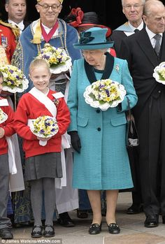 The Queen has now visited every Anglican Cathedral in England for the Royal Maundy service...