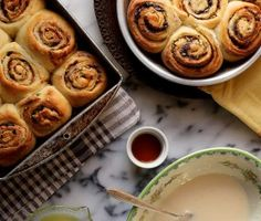 Joy the Baker – Bonkers Awesome Pistachio, Orange, and Dark Chocolate Cinnamon Rolls
