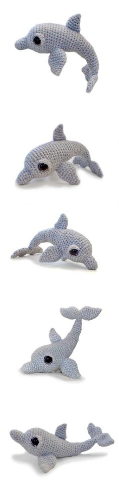 Tasha The Dolphin Amigurumi Pattern