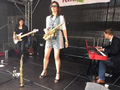 Gig pics: Susanne Alt Trio feat. Daan Herweg and Phaedra Kwant at Rosenmarkt Heilbronn Thanks to Heilbronn Marketing GmbH. #jazz #acoustic #sax #piano #bass #roses #festival #heilbronn