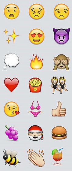 New emojis! Who's excited?