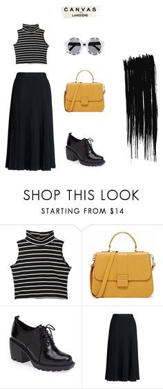 """Paint Your Look With Canvas by Lands' End: Contest Entry"" by jayakarelse ❤ liked on Polyvore featuring Opening Ceremony, Canvas by Lands' End, House of Holland and Lands' End"