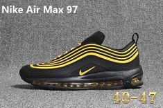 new concept 0c9a2 c0b05 Spring Summer 2018 New Arrival Nike Air Max 97 Black Yellow