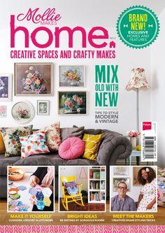 Introducing... Mollie Makes Home 2, out 19 September 2013 https://www.facebook.com/pages/Tante-Brocante-en-De-Dames-Van-Dale/110046885761851