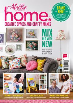Introducing... Mollie Makes Home 2, out 19 September 2013