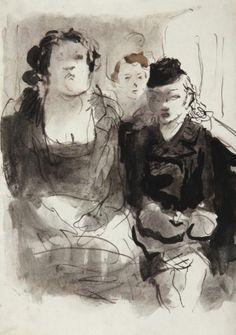 FELIKS TOPOLSKI Vincent Van Gogh, Matisse, Public Transport, Sketch Books, Watercolor, Ink, Book Binding, Expressionism, Figurative
