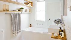 Simple ways to make your bathroom shine