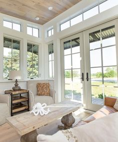 With 270° views, the Saltbox by Clayton Tiny Homes offers a bright and spacious living area.