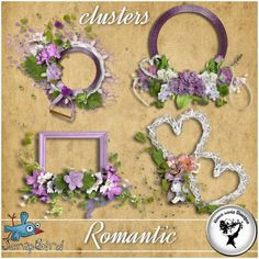 Romantic - Clusters - by BlackLadyDesigns